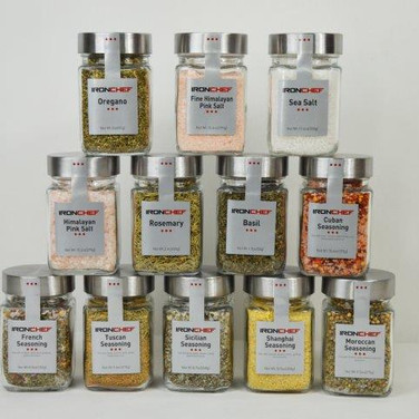 Assorted Spices Jars