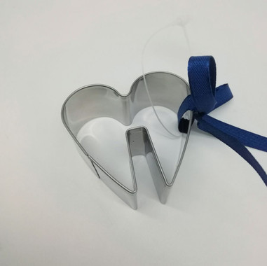 Cup Rest Heart Cookie Cutter