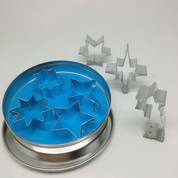 Star Cookie Cutter Set of 7 in Tin Box