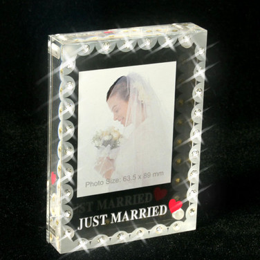 Best Wedding Favour - Mini Photo Frame with Crystals