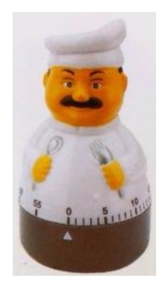 Kitchen timer - chef