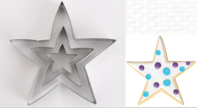 cookie cutter star
