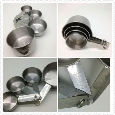 Stainless Steel Measure Cup Set of 4, Round GP