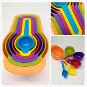 Plastic Measure Cup Set of 6