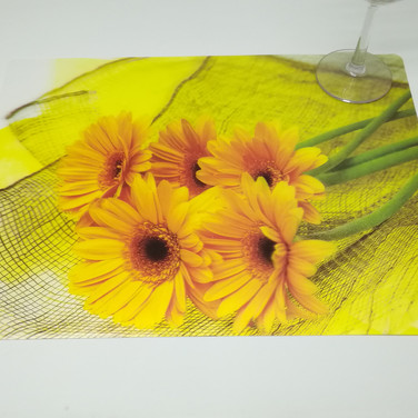 PVC Table Mat with Lenticular Image