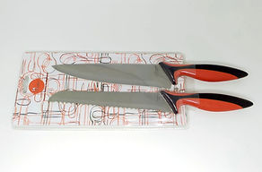Bread & chef knife set