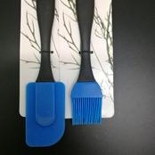 Silicone Spatula & Brush