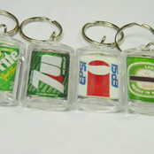 Drink Can Keychain