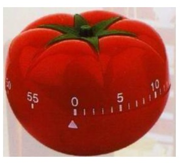 Kitchen timer - tomato