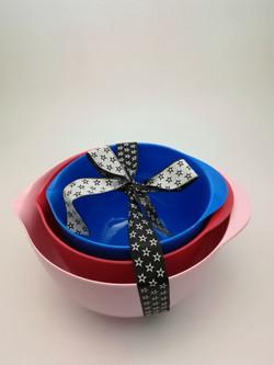 Melamine mixing bowl set