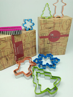 Various Styles of Cookie Cutters