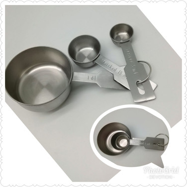 Stainless Steel Measure Cup Set of 3
