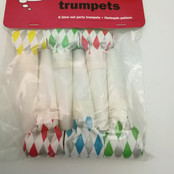 Colourful Party Trumpets