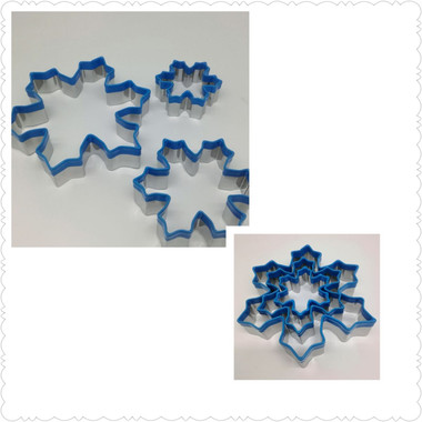 Snowflake Cookie Cutter Set of 3