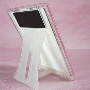 Back Side of Blinking Mini Frame with Rhinestones