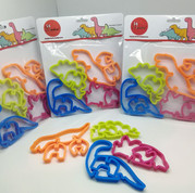 3D Dinosaur Cookie Cutter Set