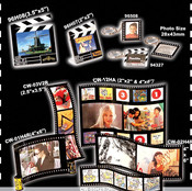 Assorted Filmstrip & Clapperboard Frames