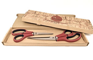 Red kitchen scissors