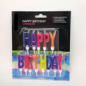 Happy Birthday Candle Set 2
