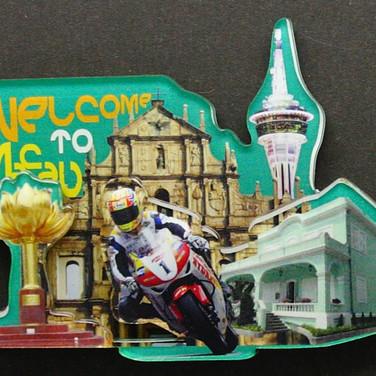 2D Magnet for Tourist