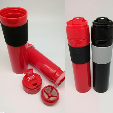 French Press Coffee Bottle with Filter