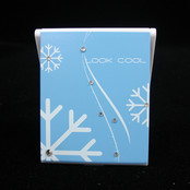 Compact Mirror with Crystal