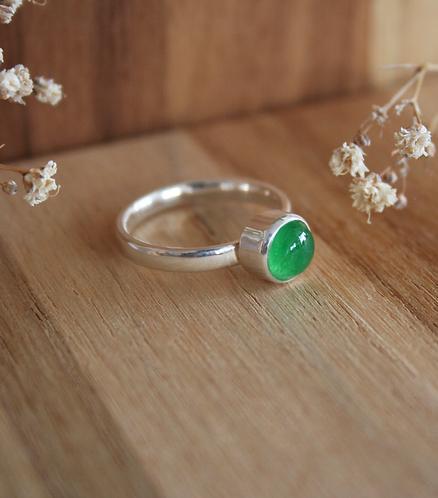 anel pin solo - jade
