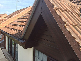 Example of new & replacement UPVC windows, doors, soffit Boards, Fascias & guttering
