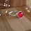 Thumbnail: anel botão solo - dolomita vermelha