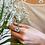 Thumbnail: anel pérola dente de leão