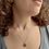Thumbnail: colar lótus ouro