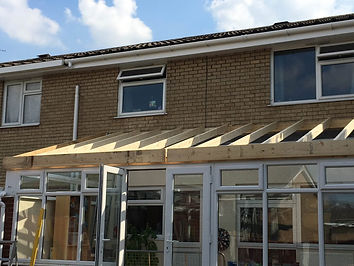 Replacement Tiled Conservatory Roof Burton on Trent - Preparation