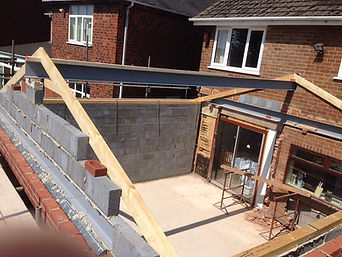 home extension builder burton on trent example