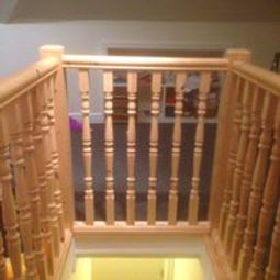 Burton on Trent Carpenter & Joiner - new wooden staircase example