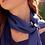 Thumbnail: presilha gema e lago - ágata azul