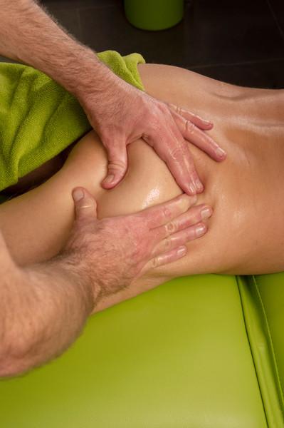 Massage van de Gluteus