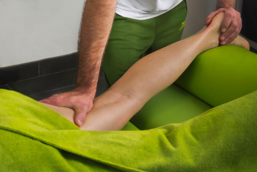 Massage voor het sporten