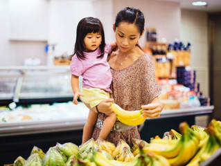 6 Ways (plus a fun game!) to Improve Your Child's Speech While Grocery Shopping