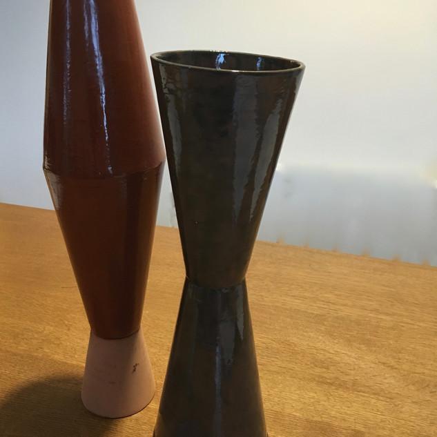 Vases géométriques