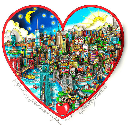 NIGHT AND DAY THE HEART BEATS FOR NEW YORK
