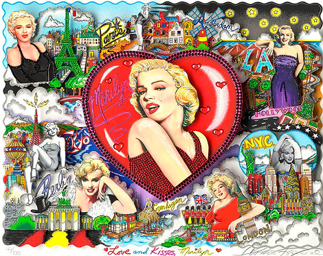 LOVE AND KISSES MARILYN