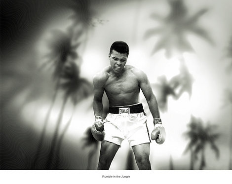 RUMBLE IN THE JUNGLE - MUHAMMED ALI