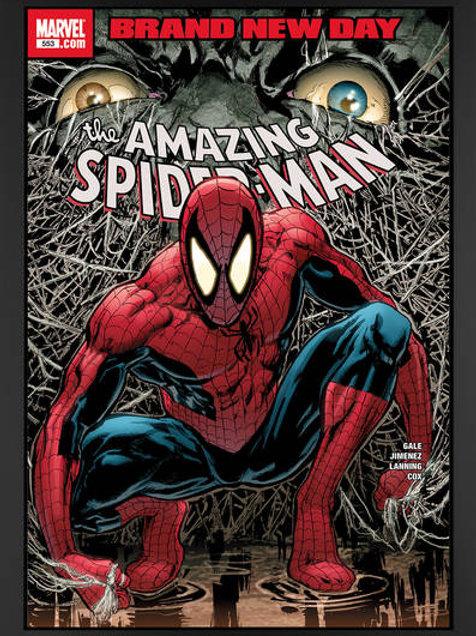 THE AMAZING SPIDER-MAN #553