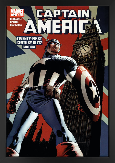 Captain America #18 - Twenty-First Century Blitz