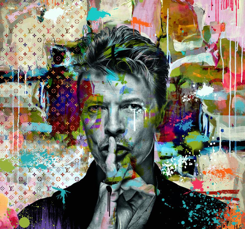 David-Bowie-Helt-Sort-miva-fine-art-gall