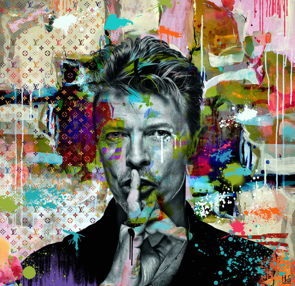 David-Bowie-Helt-Sort-miva-fine-art-gall