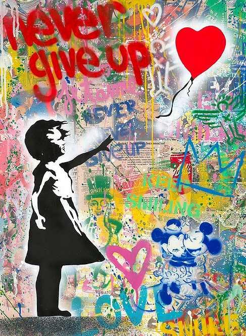 MR BRAINWASH 2020 - NEVER GIVE UP