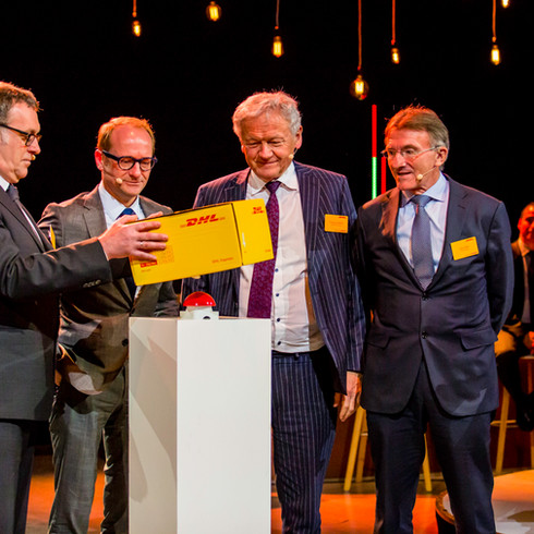 DHL Global - Opening Brussels Hub