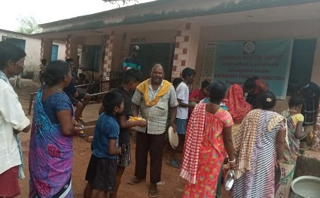 Food relief: 2021 edition, Odisha extension