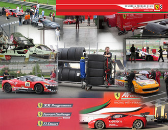 Ferrari Challenge Valencia 2015